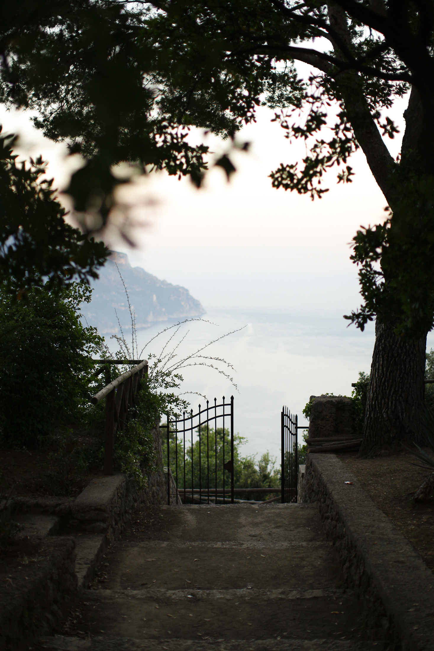 pasquale andreotti landscape from ravello