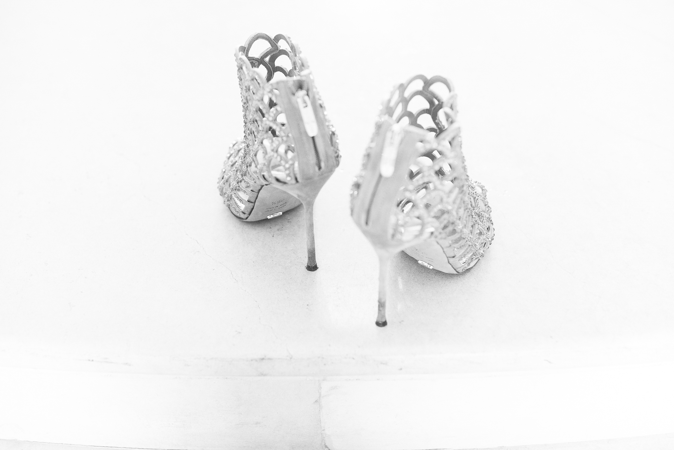 pasquale andreotti bride's shoes