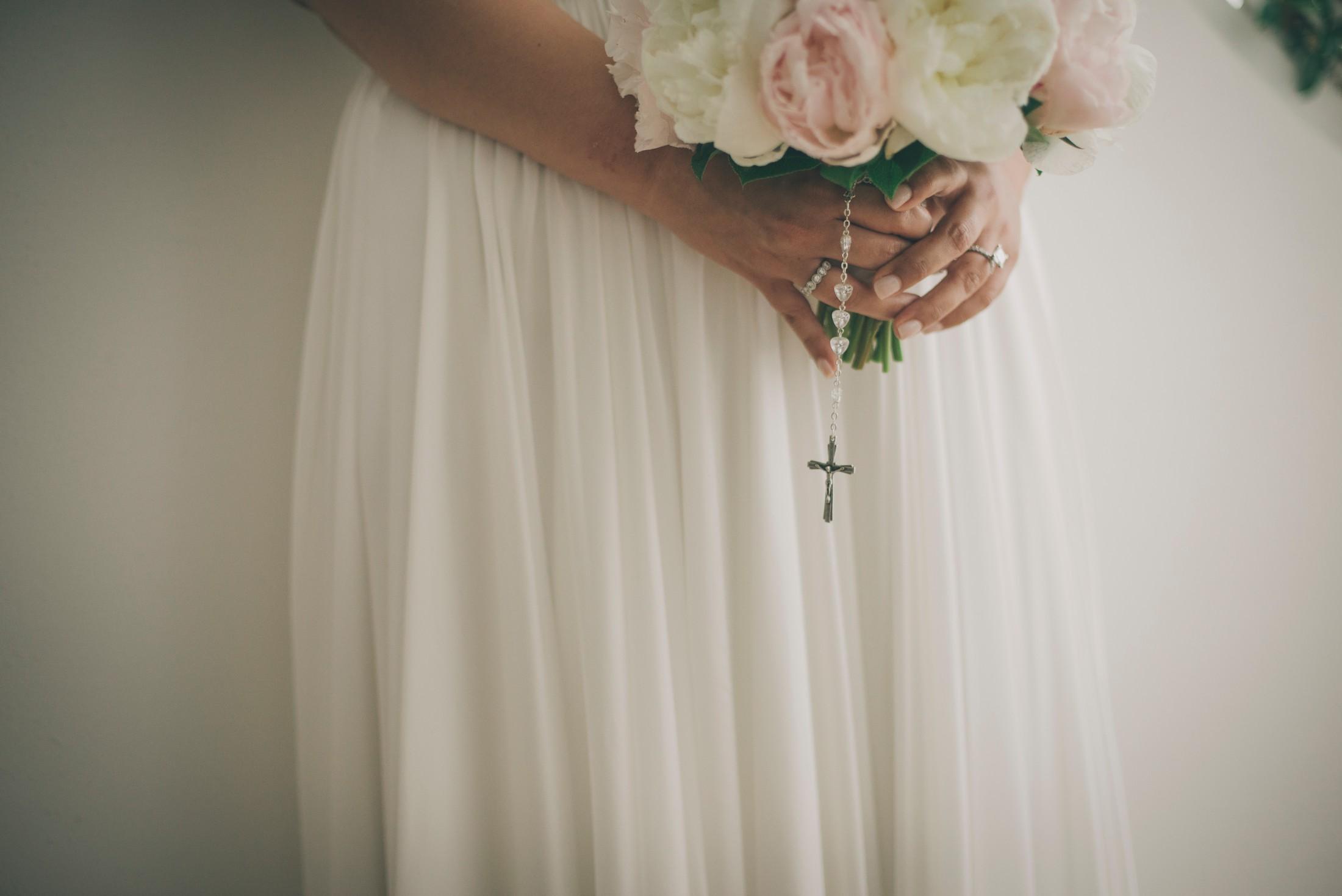 adriana alfano wedding bouquet detail