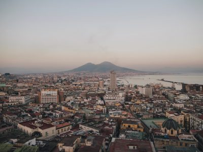napoli new of the veusvio
