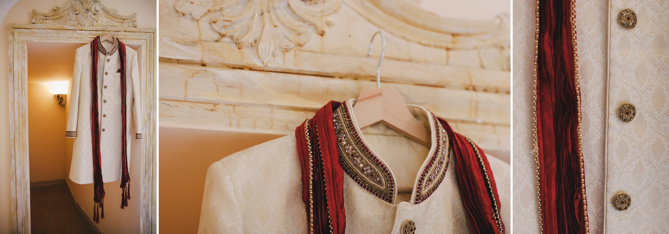 collage indian groom suite
