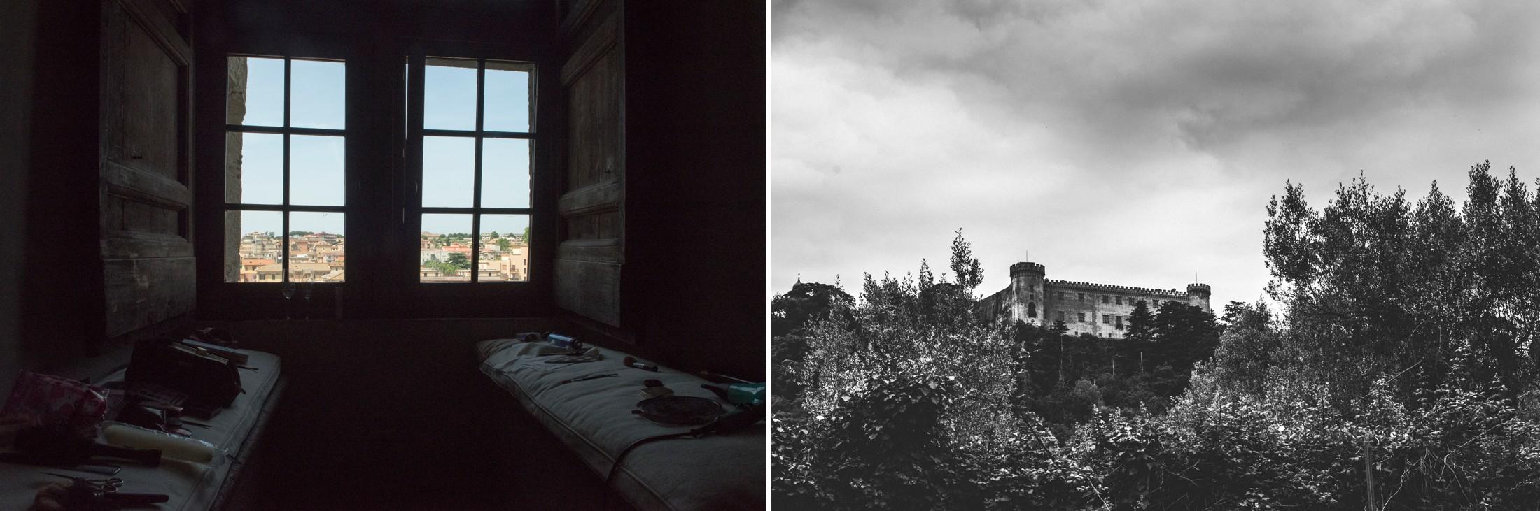 collage castle odescalchi window