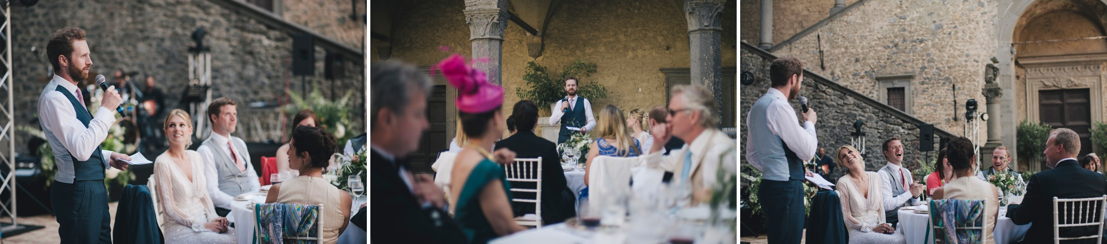 wedding in rome speeches