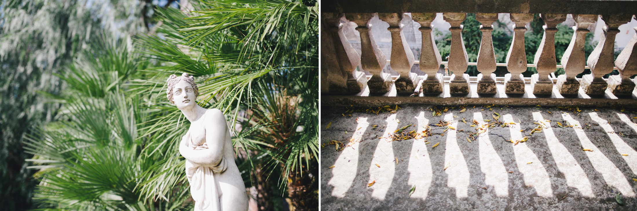 collage details from hotel excelsior vittoria in sorrento