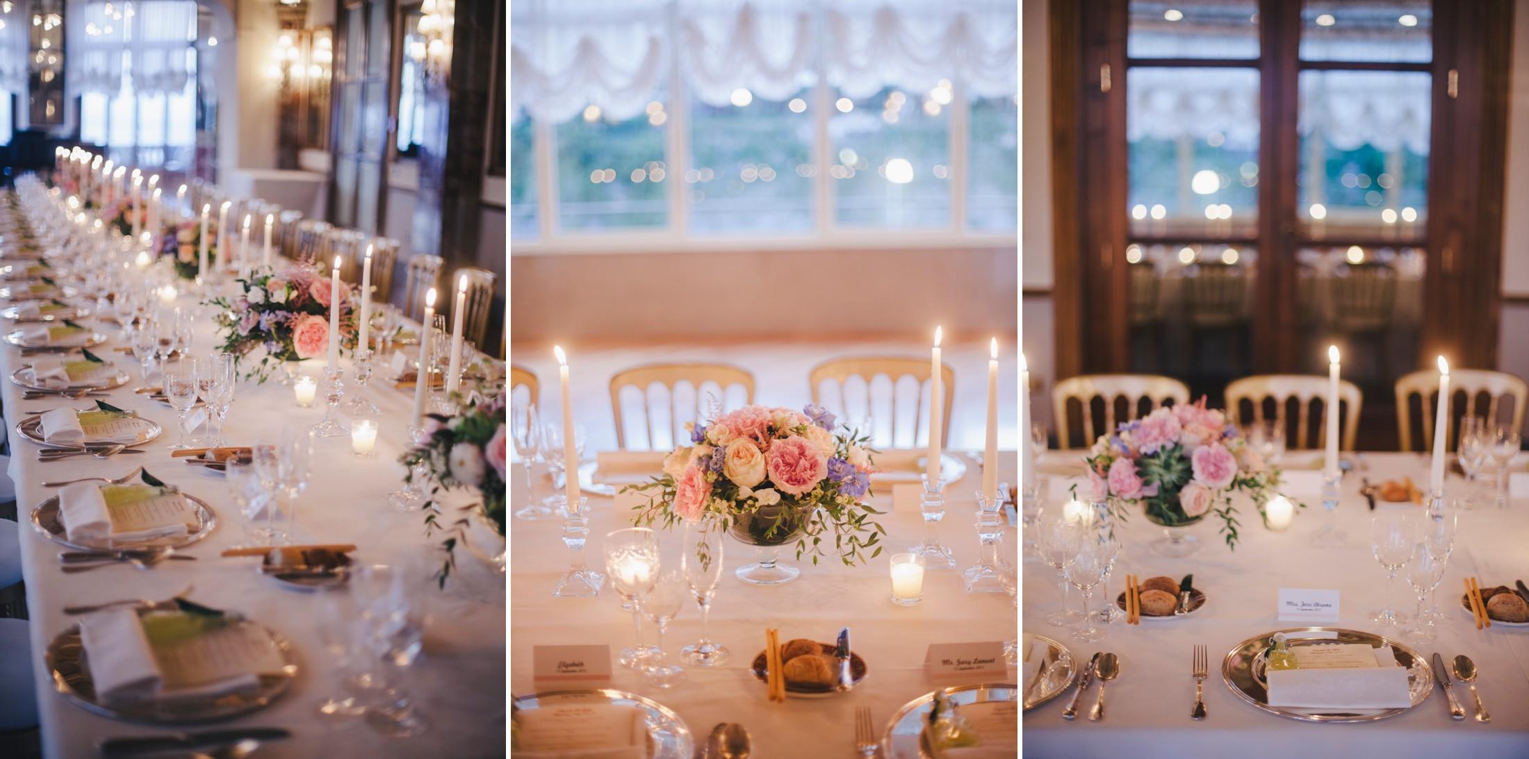 wedding in sorrento collage wedding table decor