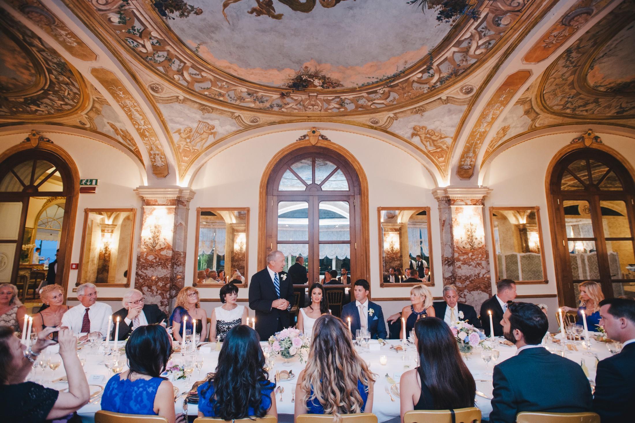 Luxury Wedding In Sorrento Elisabeth Jeffrey Italy Wedding Photographer
