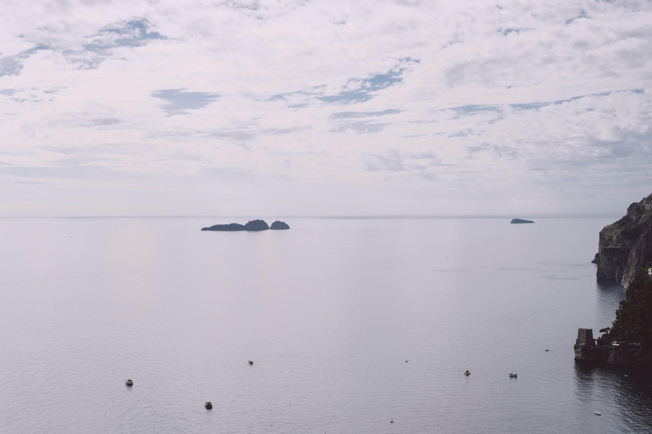positano wedding landscape the sea