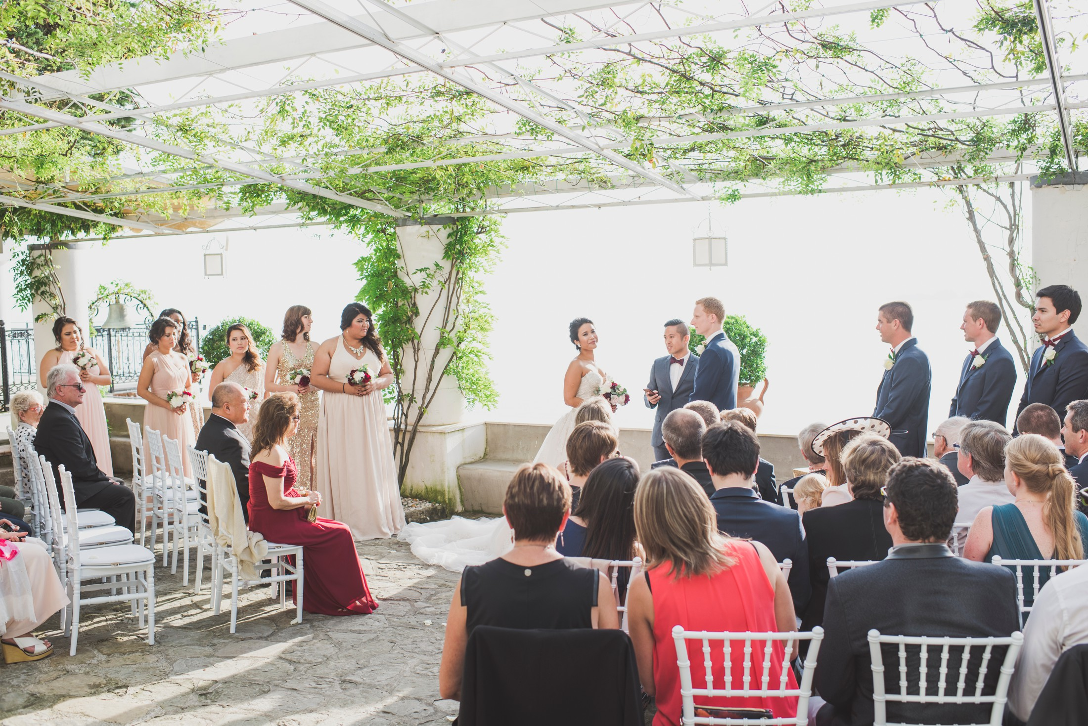 positano wedding ceremony