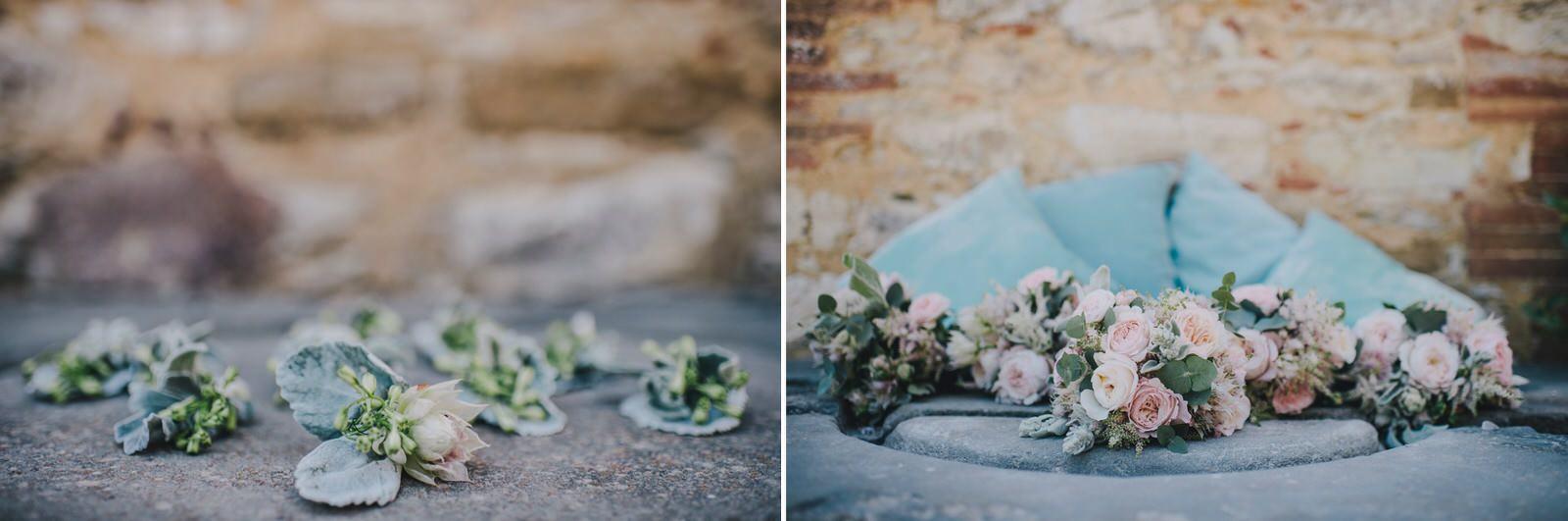 tuscany wedding collage wedding details