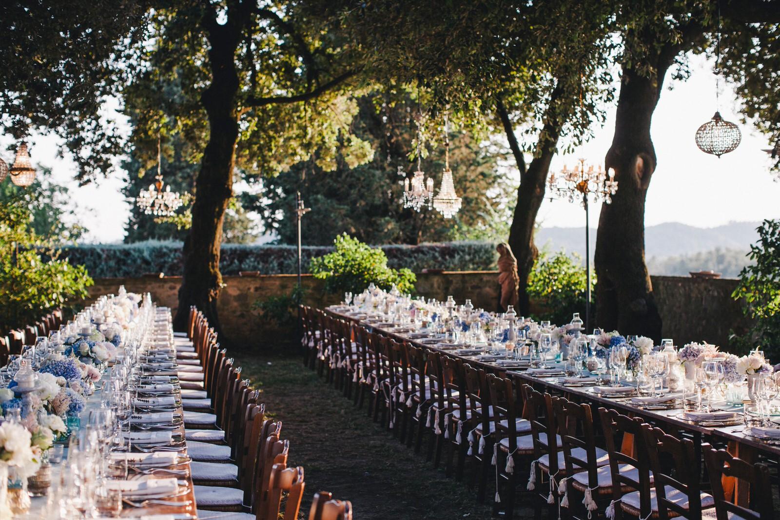 tuscany wedding table