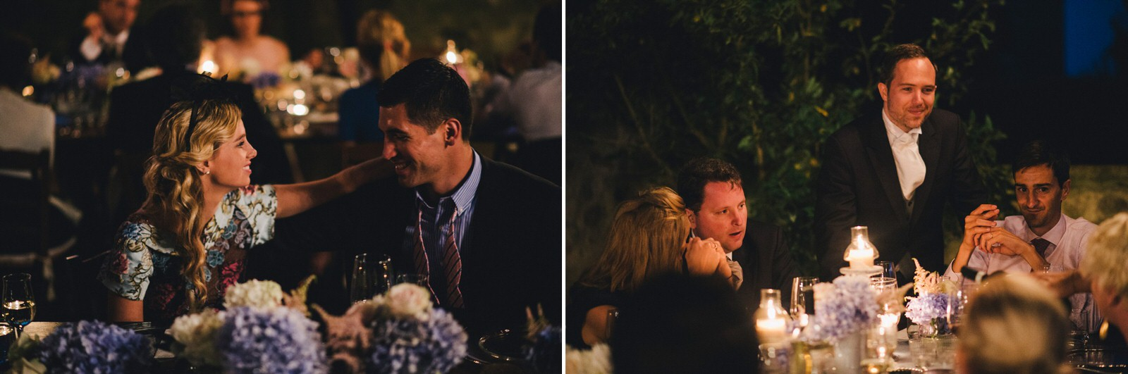 tuscany wedding collage moments from the groom speech