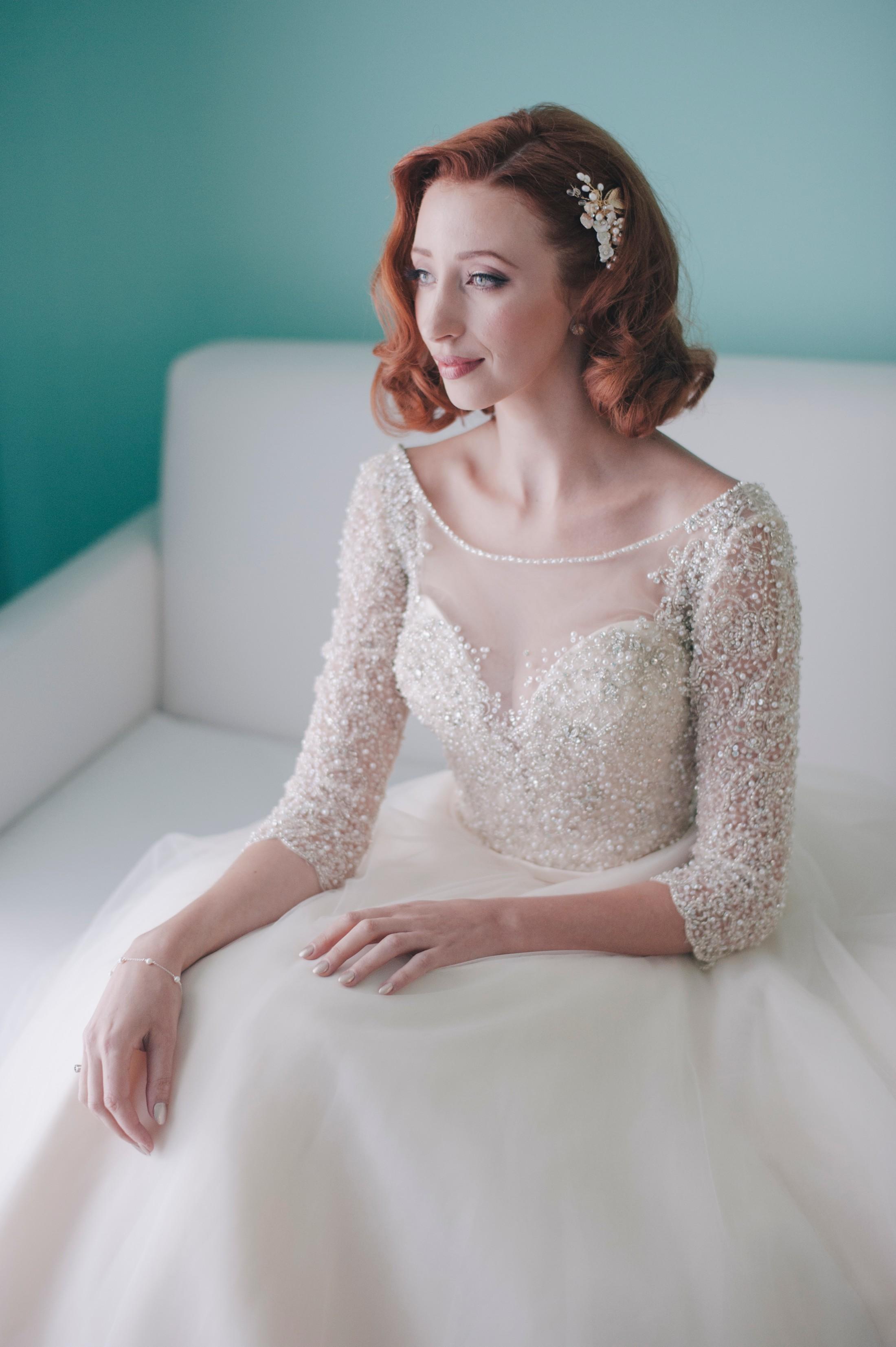 ravello wedding bride's portrait