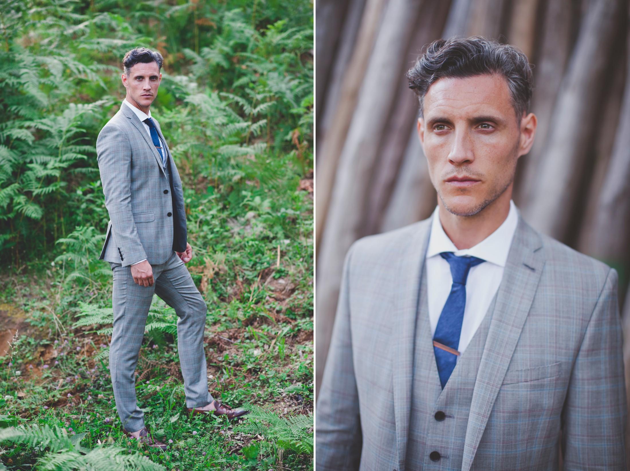 ravello wedding collage groom's portrait