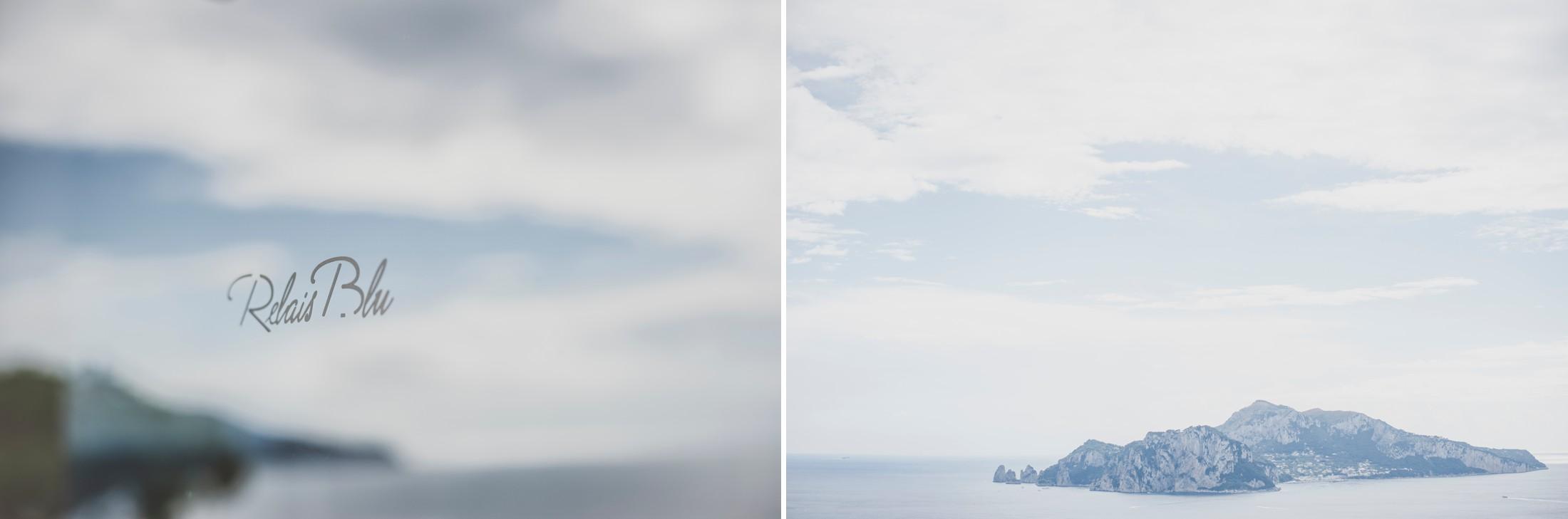 sorrento wedding collage landscapes