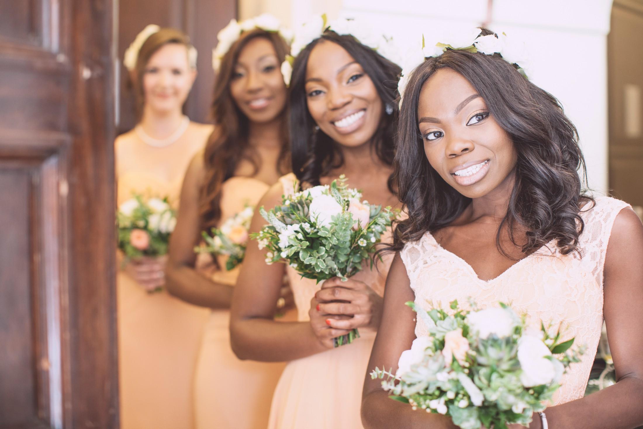wedding in ravello bridesmaids