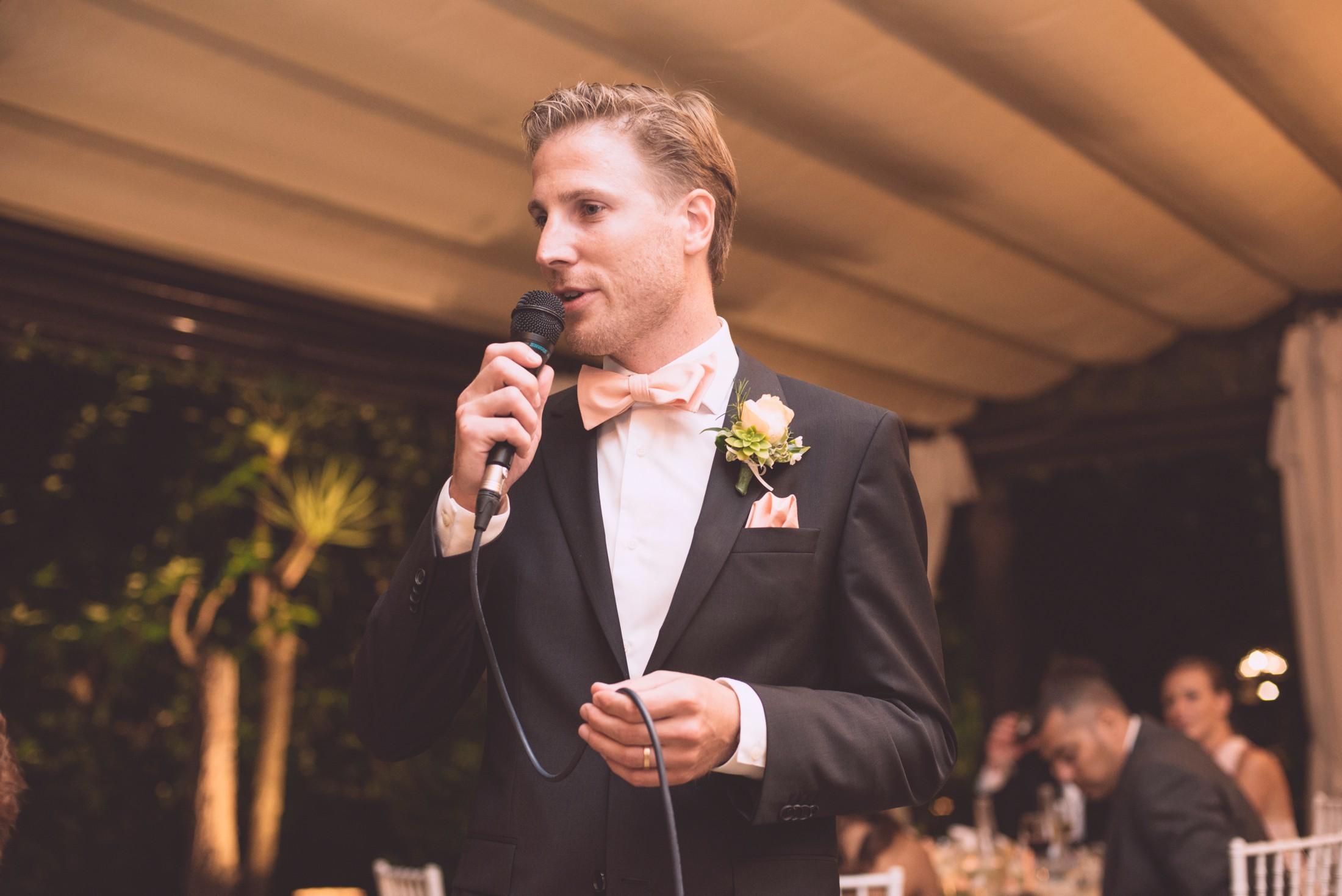 wedding in ravello the best men during his speech