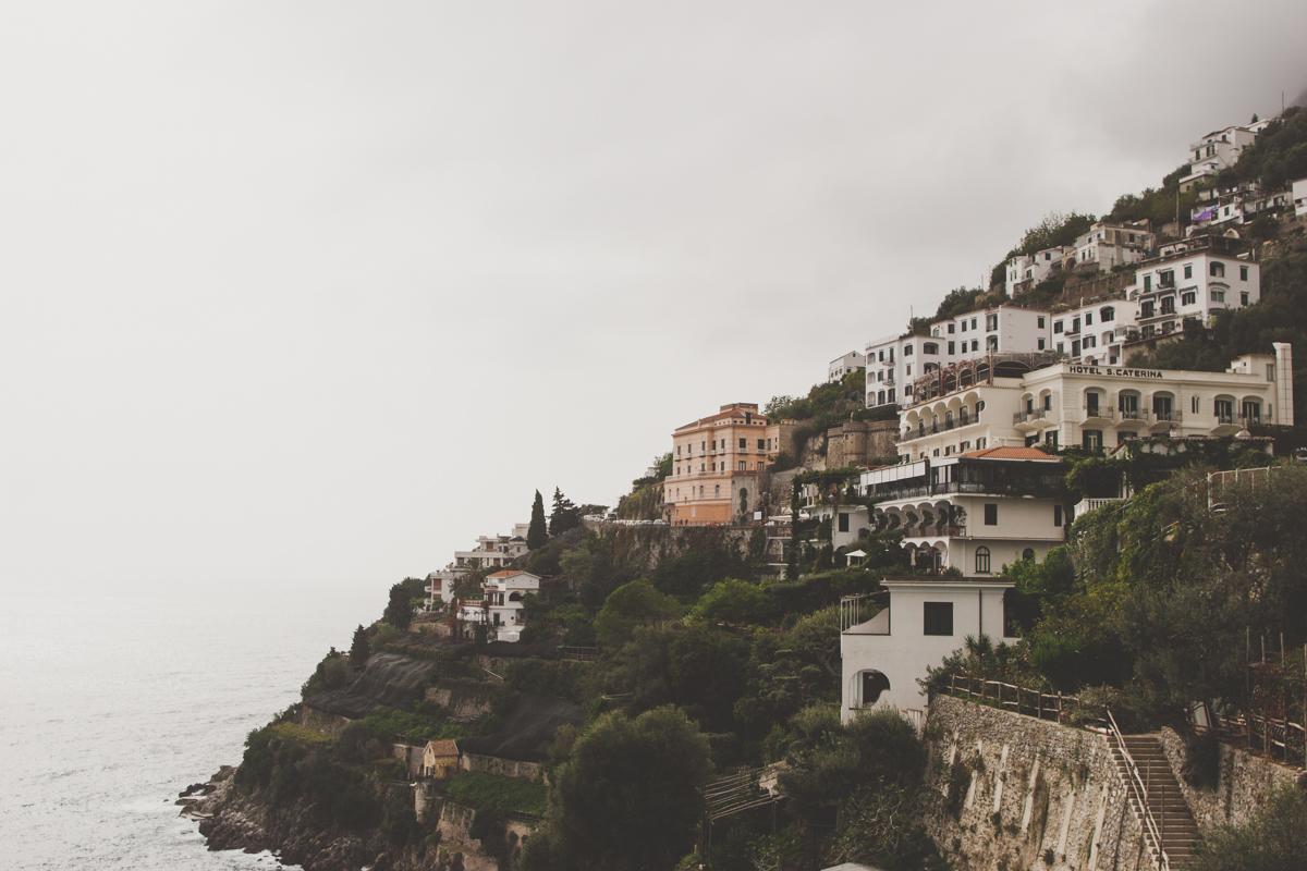 wedding in amalfi landscape