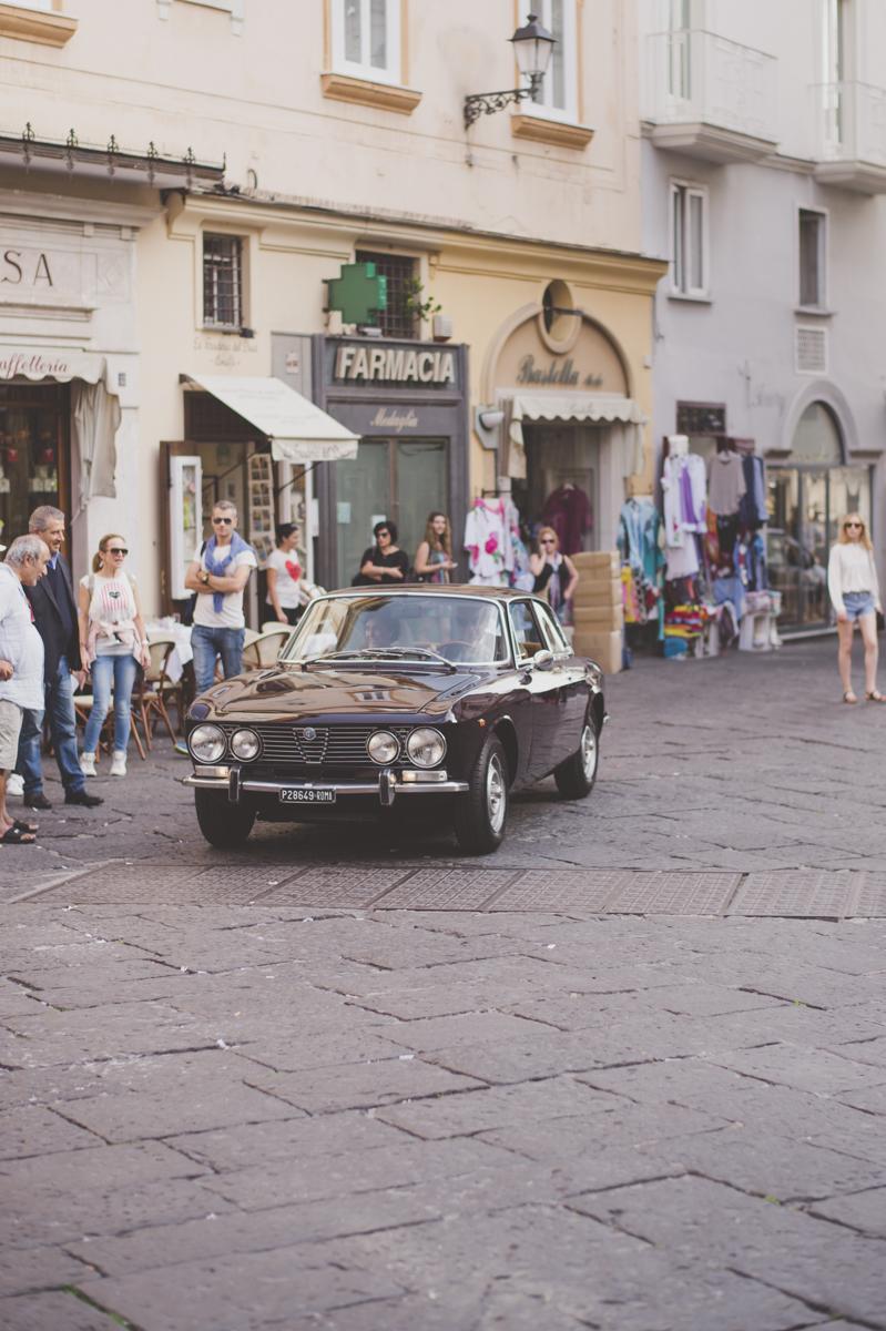 wedding in amalfi the wedding car