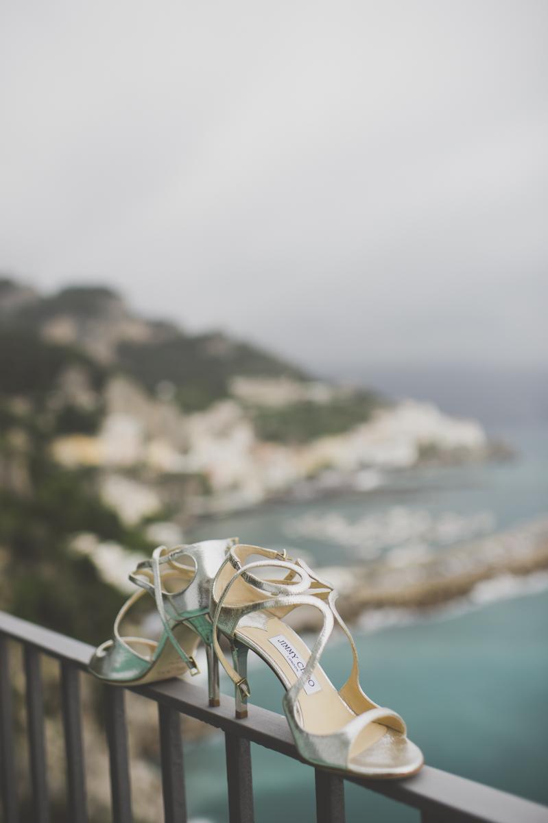 wedding in amalfi wedding shoes