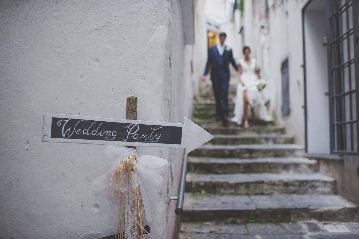wedding in amalfi wedding signs