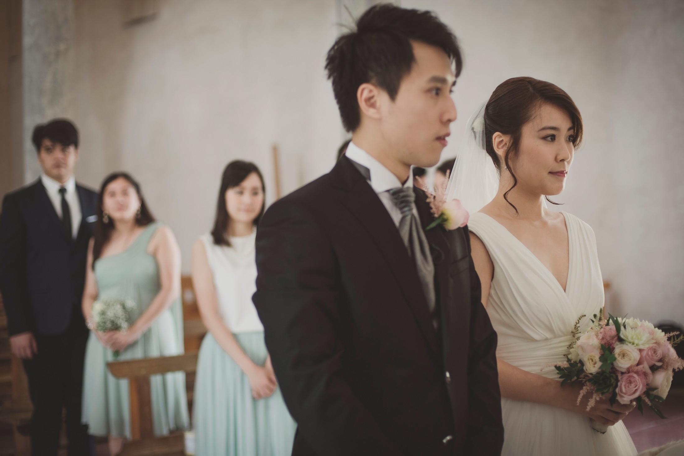 wedding on the amalfi coast moments from the catholic ceremony