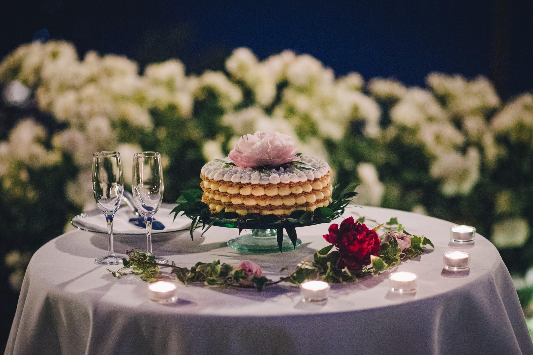 wedding in ravello the wedding cake