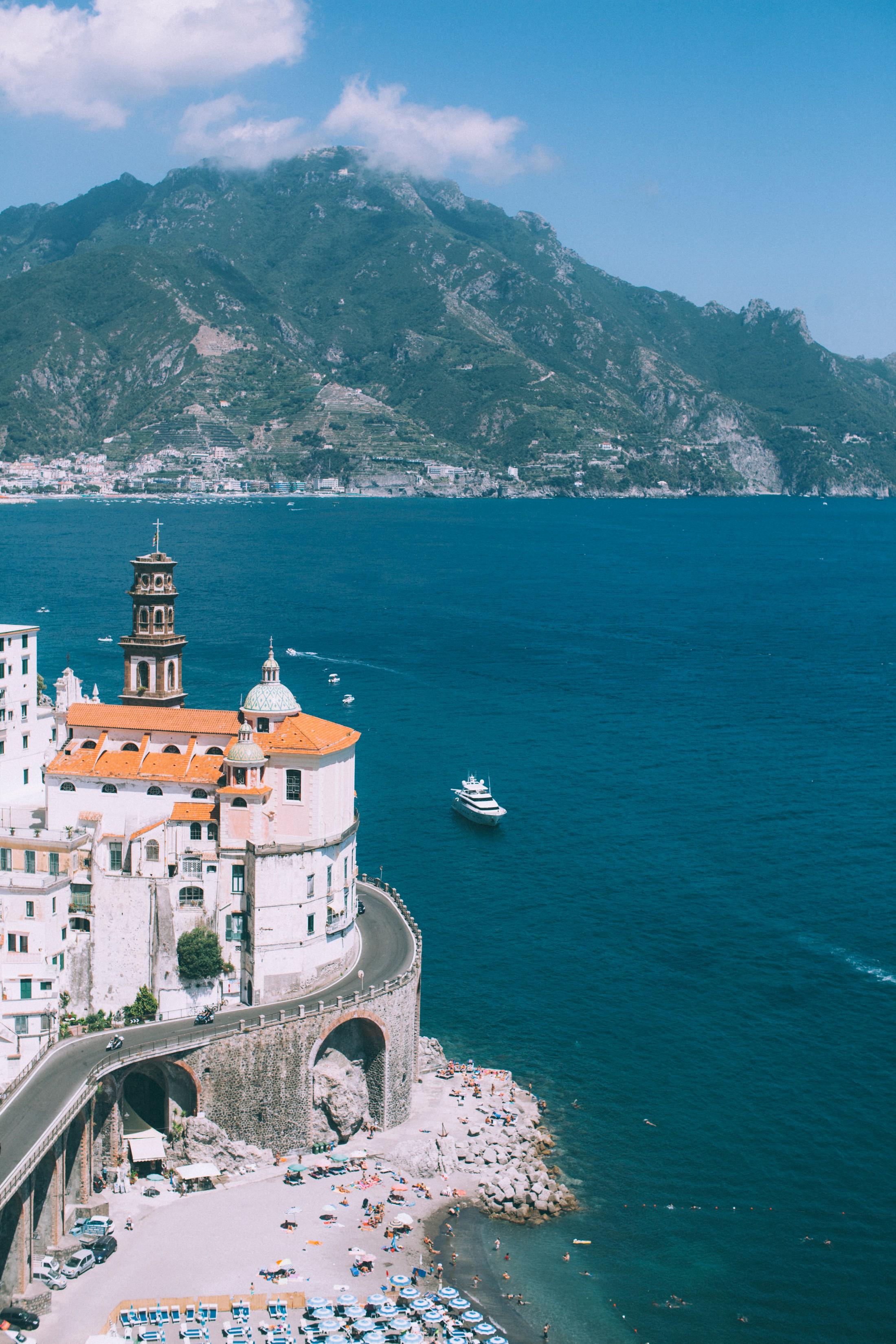 rustic wedding in ravello landscape amalfi coast