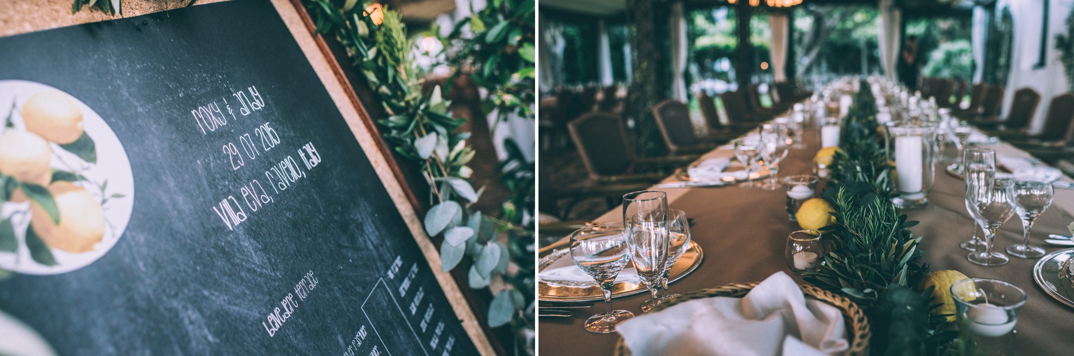 rustic wedding in ravello detail off