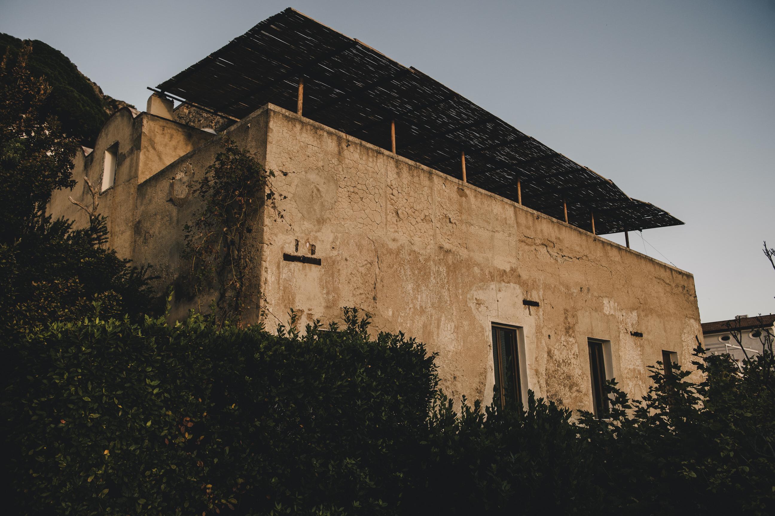 casa privata wedding location in Praiano