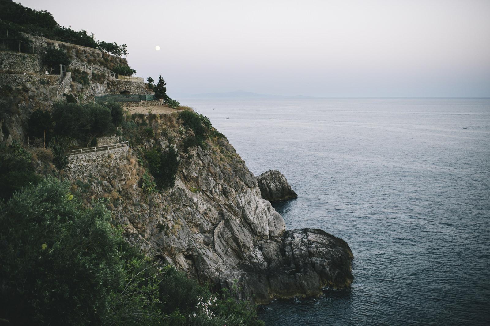 landscape a cliff