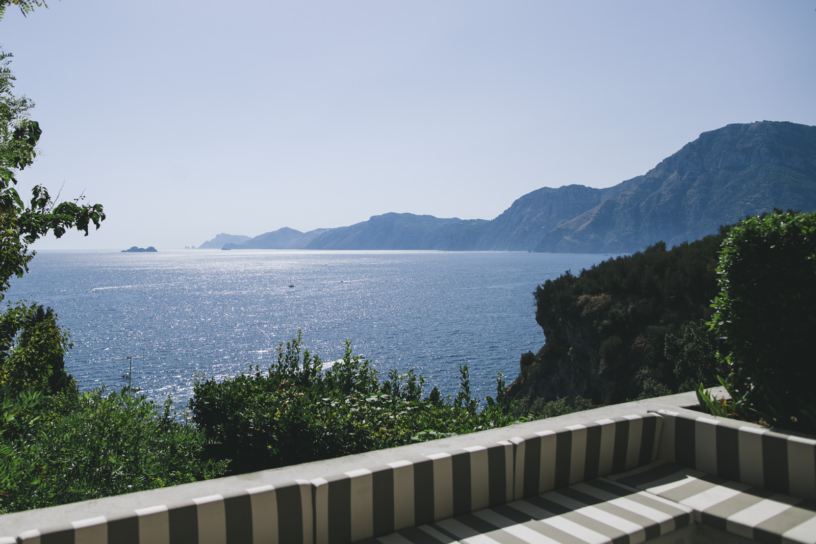 the landscape from a terrace of casa privata