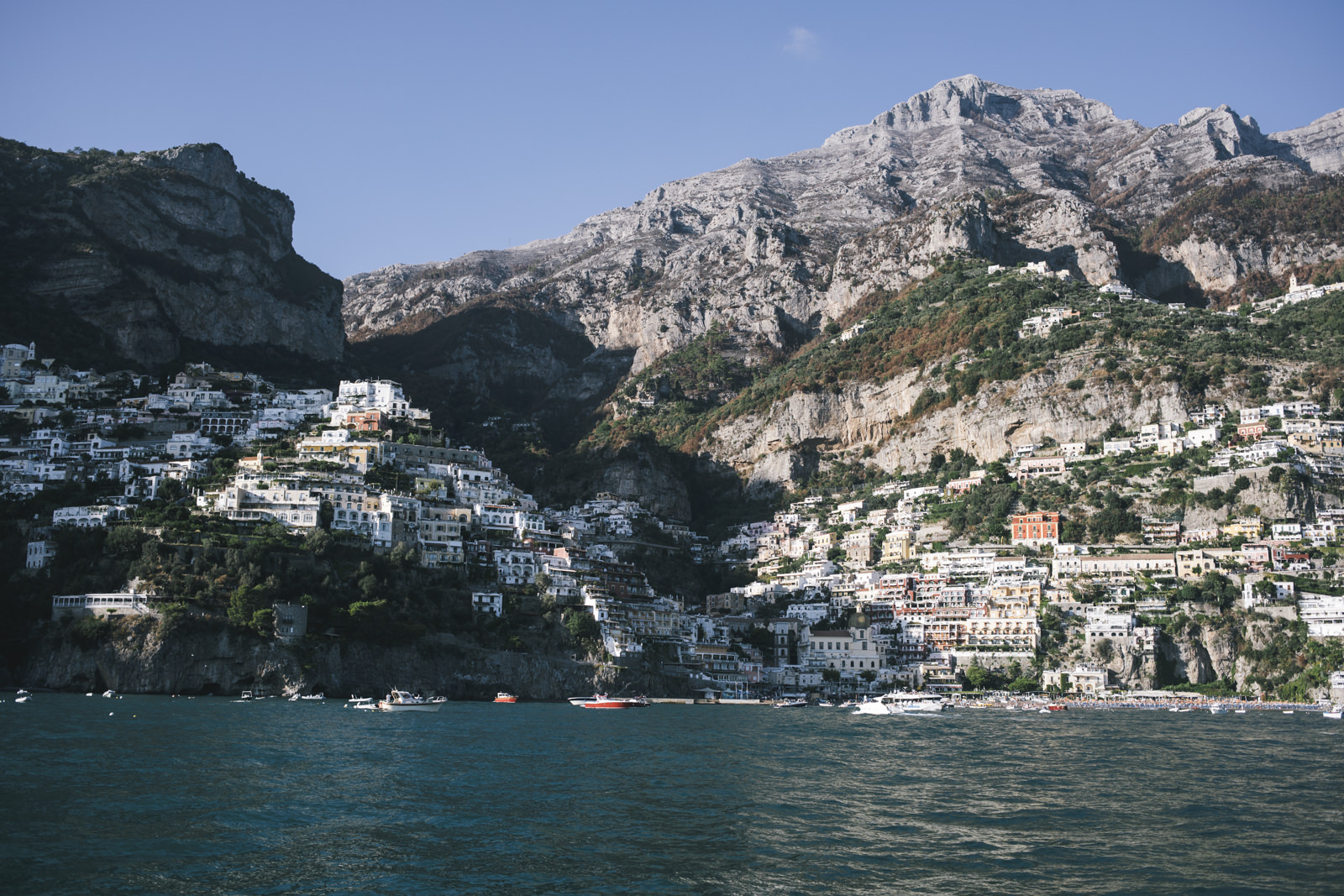 landscape from capri
