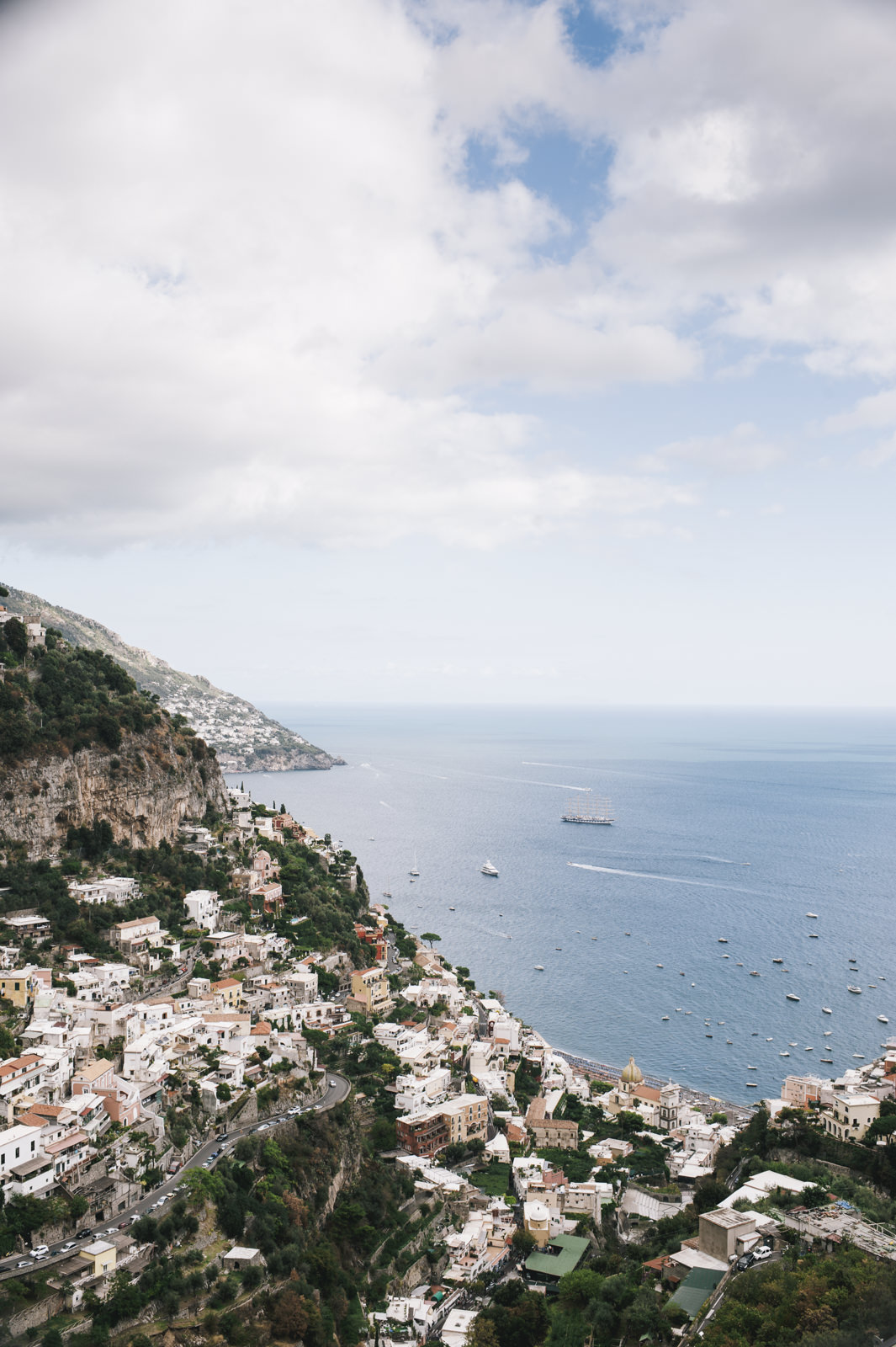 landscape from the amalfi coast