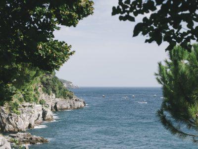 landscape the sea and the coast