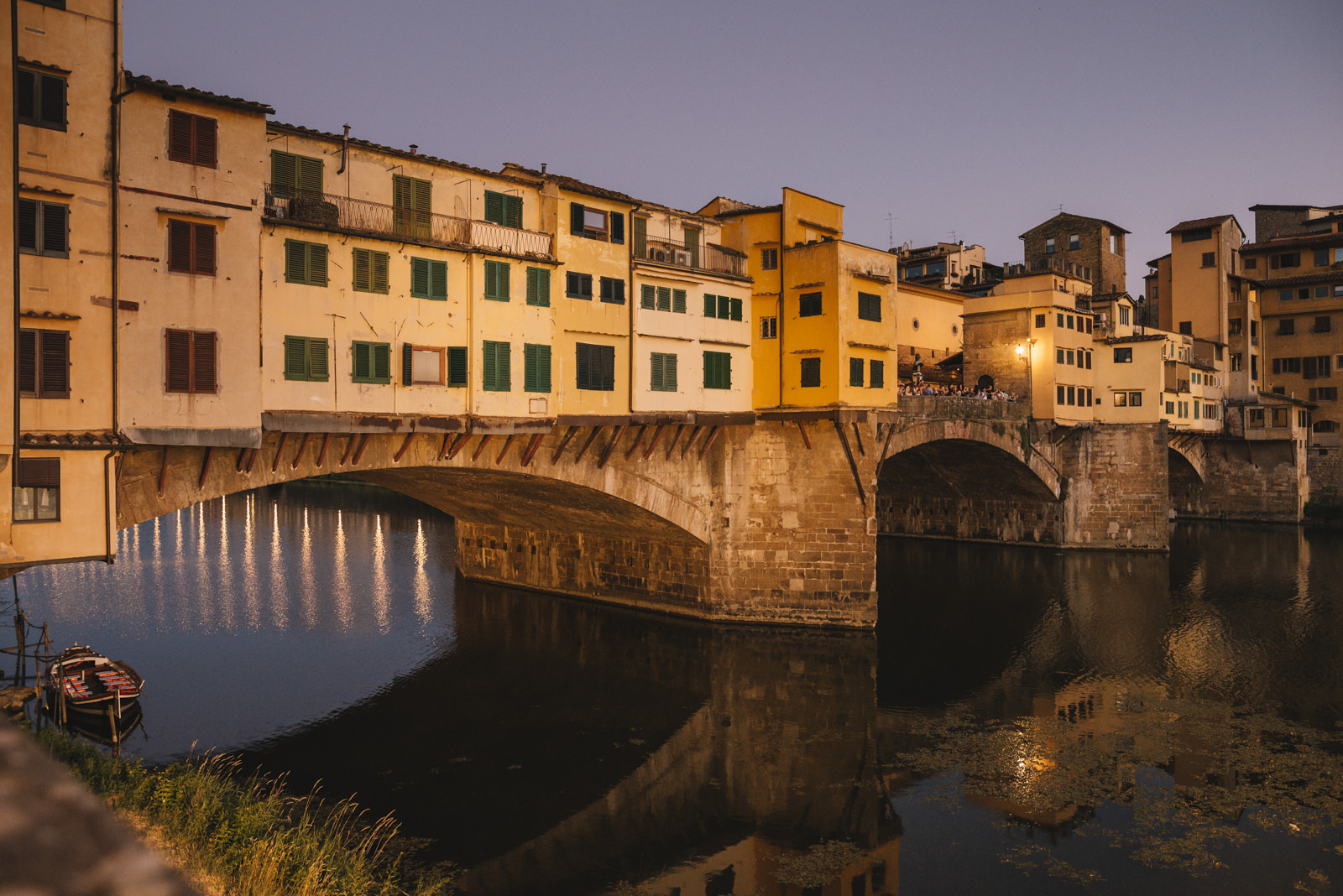 The Ponte Vecchio in Firenze