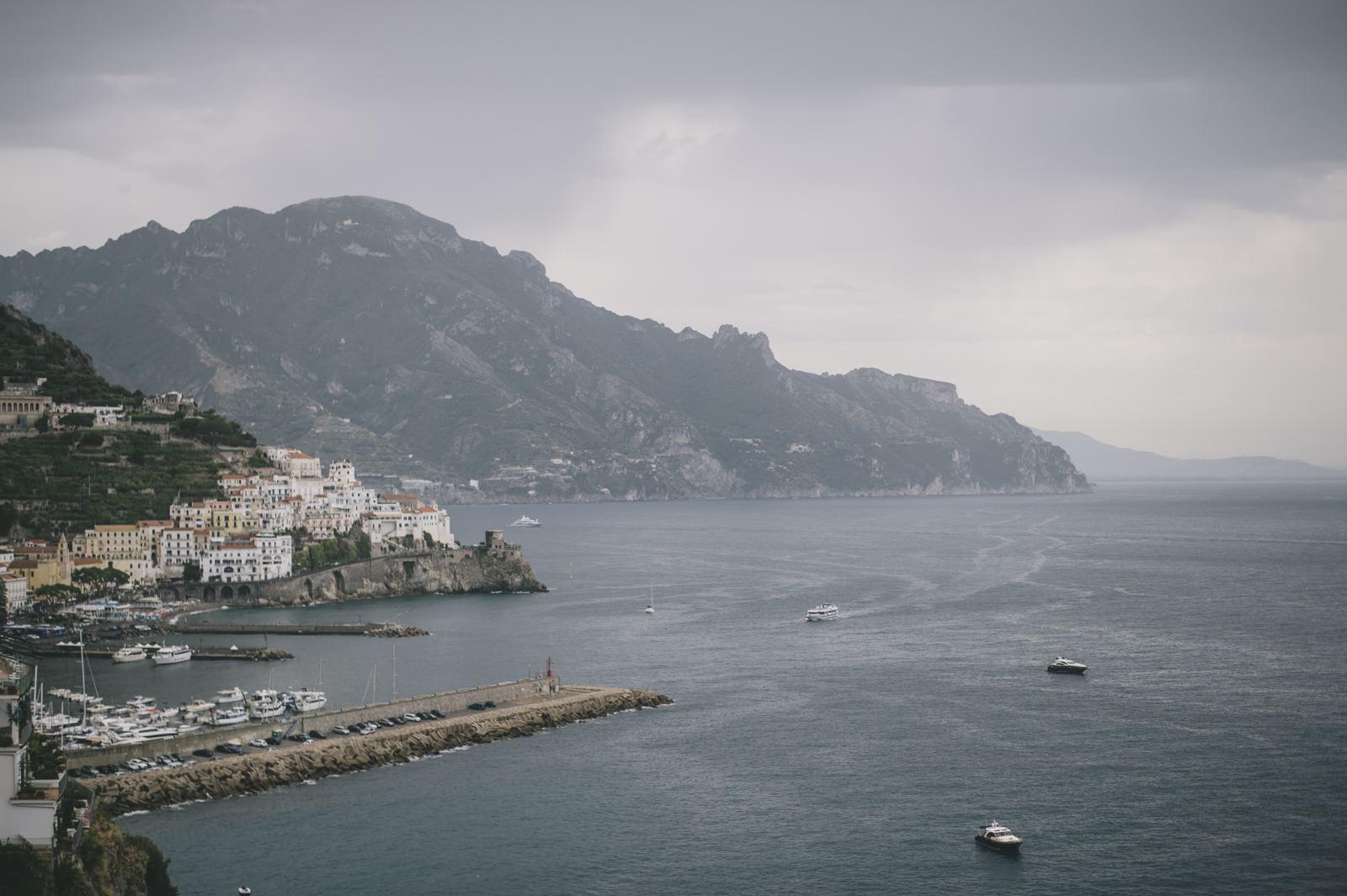 landscape amalfi coast