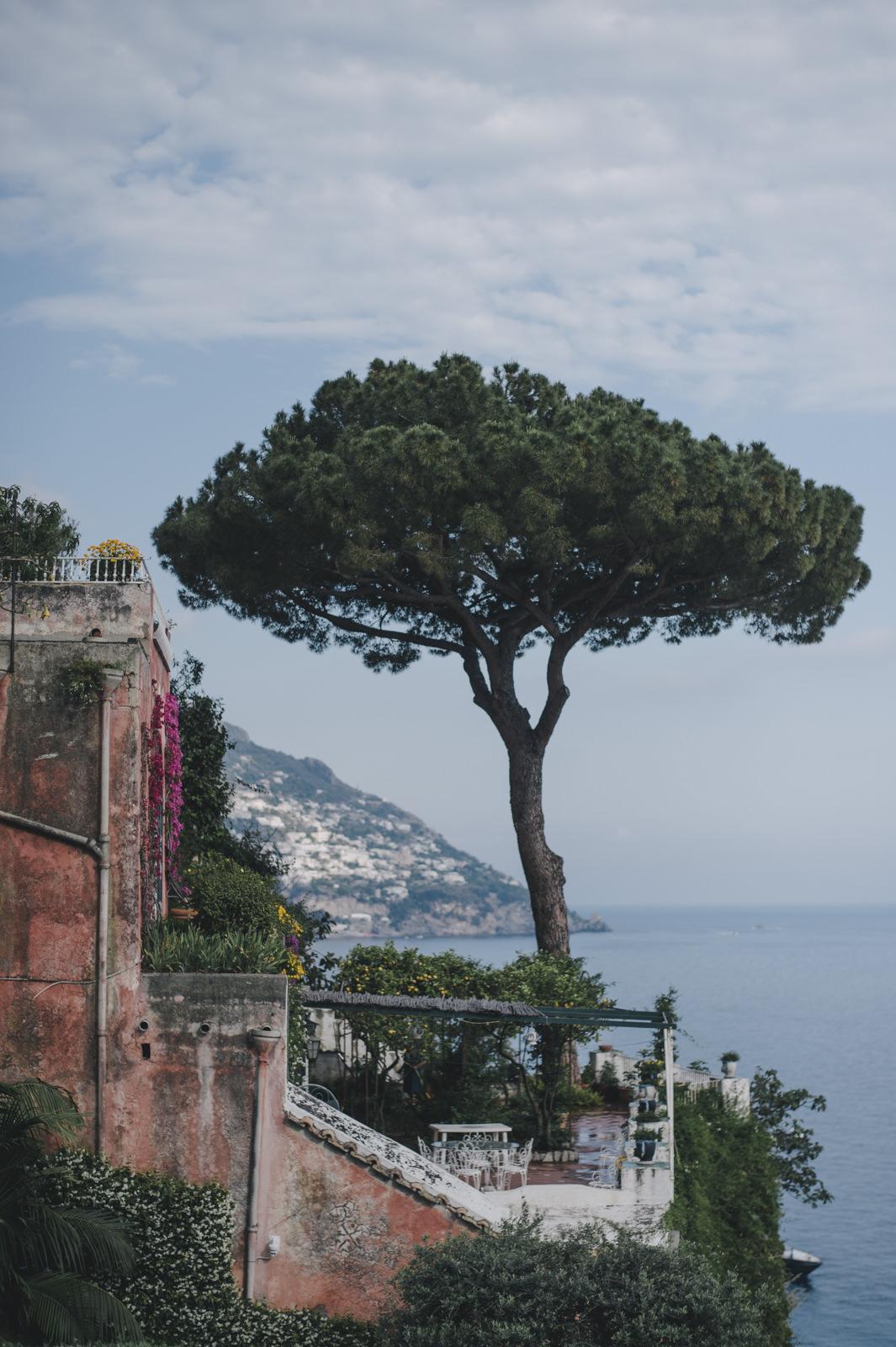landscape from hotel Marincanto in Positano