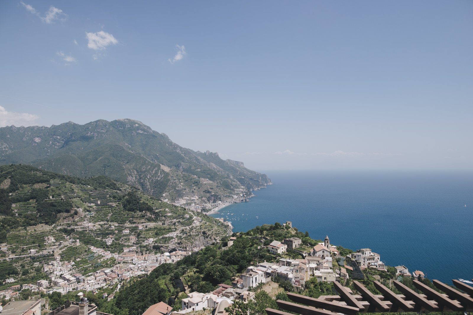 landscape of amalfi coast