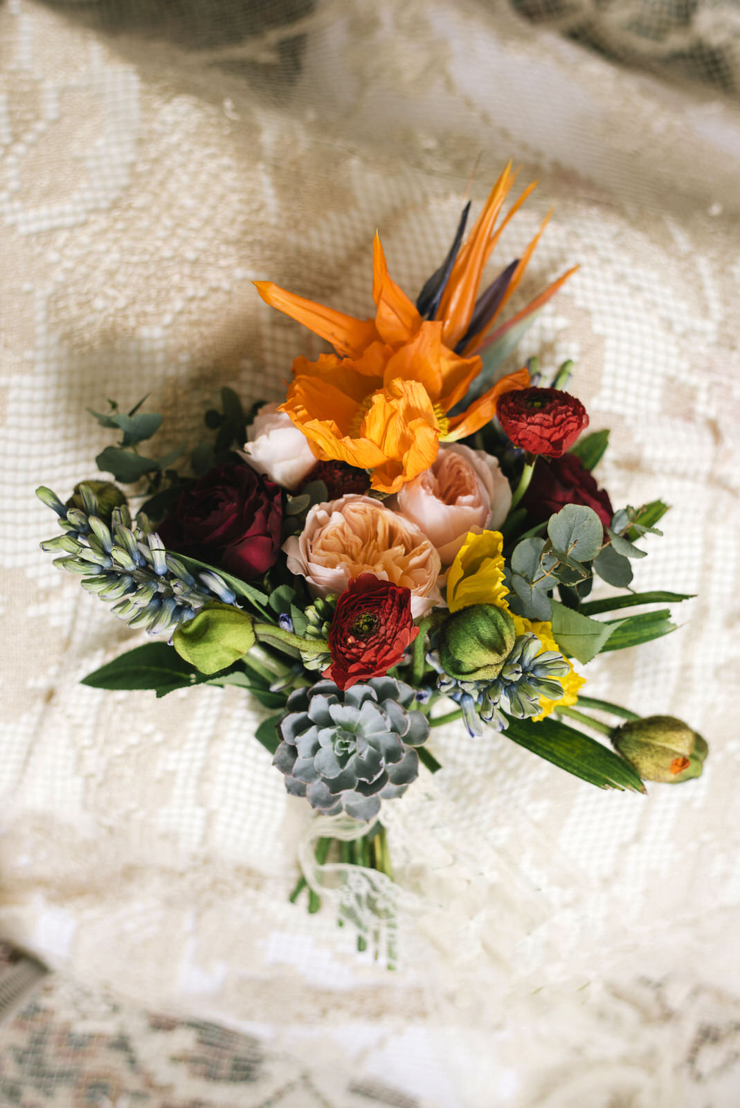 bridal exotic bouquet