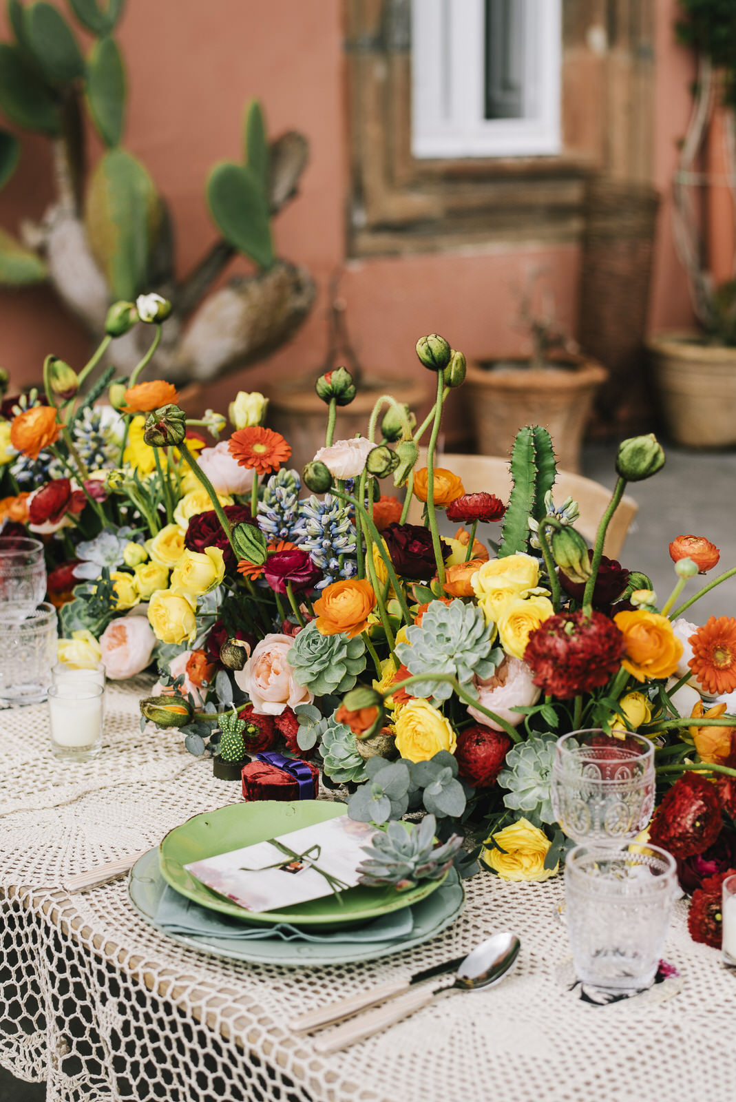 exotic wedding table