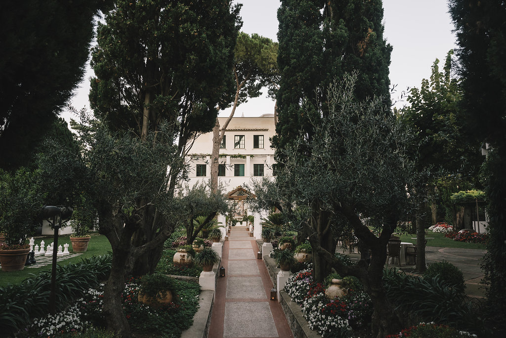 Where To Get Married In Ravello The Liberty Style Villa Eva