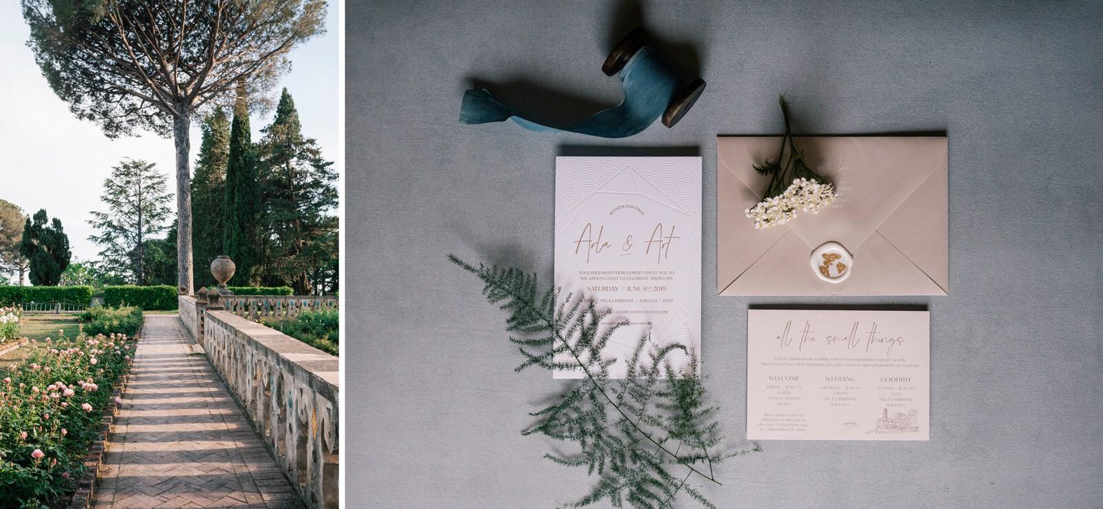 wedding at villa cimbrone in ravello 04
