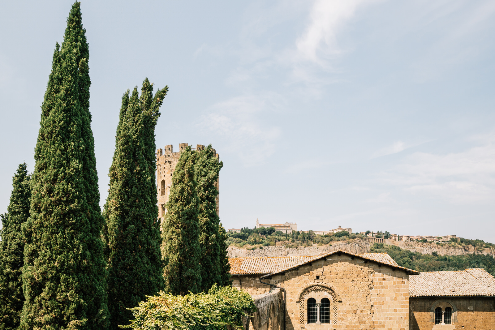 elegant wedding in umbria la badia in orvieto 10