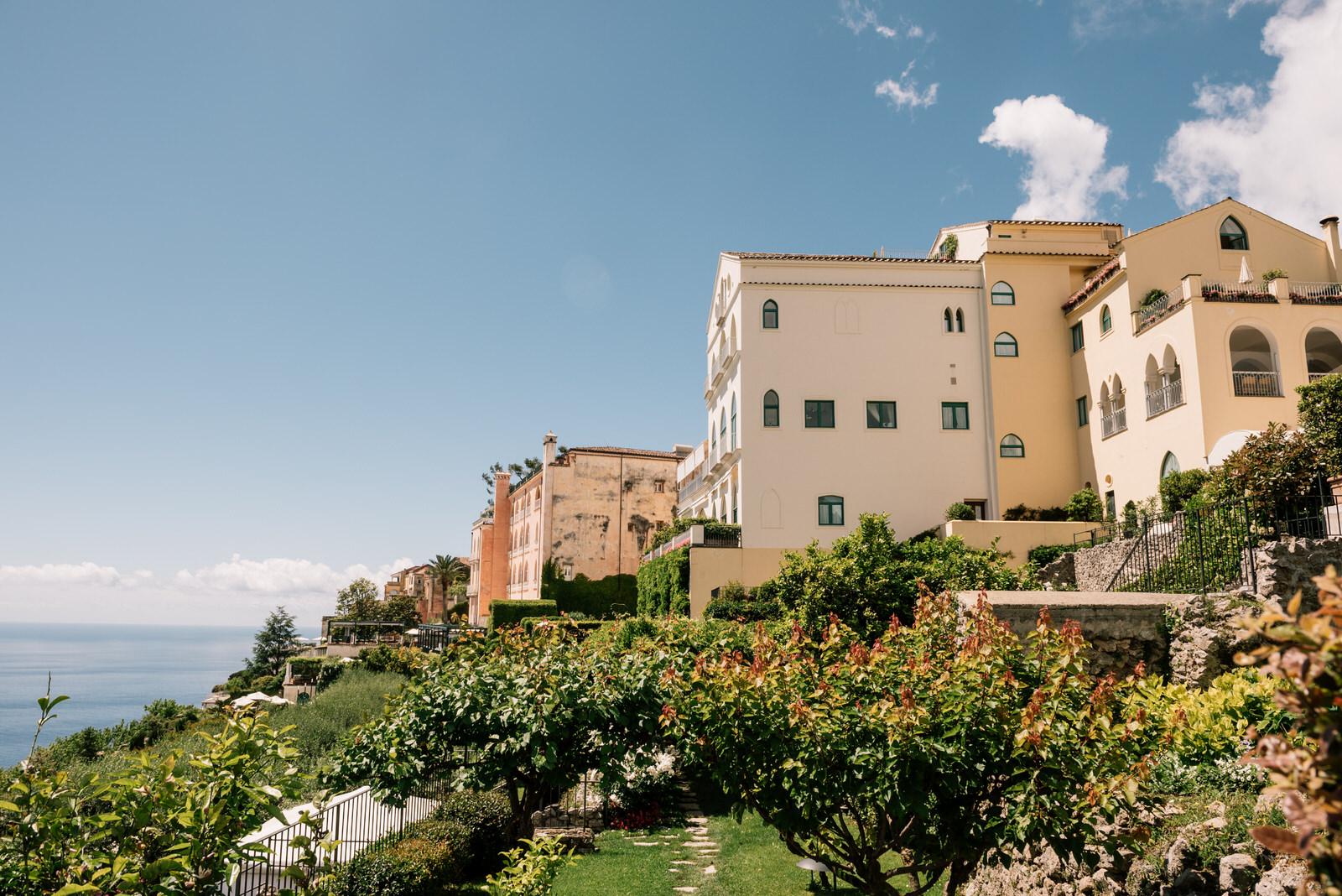 intimate wedding belmond hotel caruso ravello 01